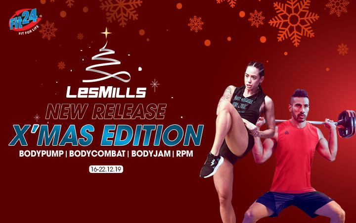 LESMILLS NEW RELEASE X'MAS EDITION